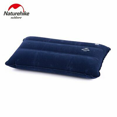 Ultralight Square Portable Air Inflatable Outdoor Camping Travel Soft Pillow UZ