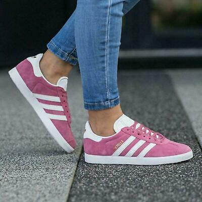 adidas Originals Gazelle W Womens Pink Trainers Sizes UK 4 - 7.5