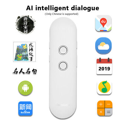 42 Languages Smart Voice Translator Mini Bluetooth Instant Translator Device