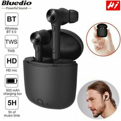 Bluedio Hi Bluetooth 5.0 Sports Waterproof Wireless Headset earbuds Earphone NEW