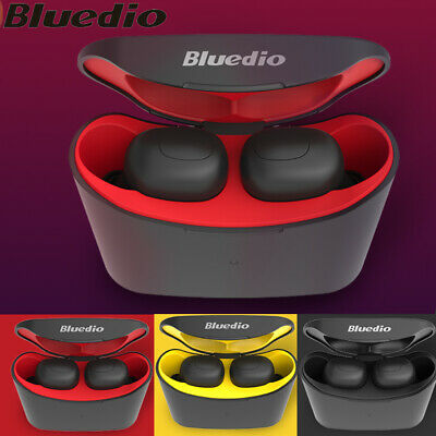 Bluedio T-elf Wireless Earphone Bluetooth 5.0 TWS Earbuds Sports Stereo Headset