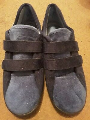Db easy b, ladies, Shoes easy fasteners, size 7, safe sole, diabetic friendly