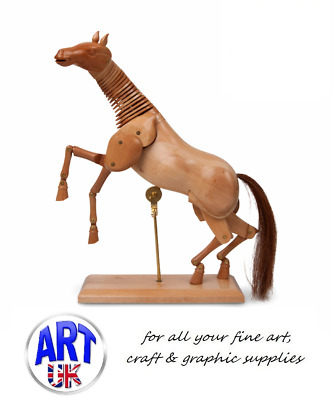 Professional Artists Wooden Horse Equine Mannequins Manikin Draw/Sketch/Painting