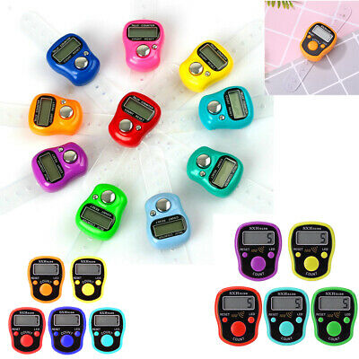 0~99999 Digit LCD Electronic Golf Finger Hand Ring Knitting Row Tally Co NIGH