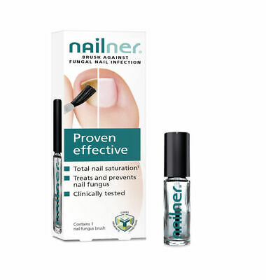 2 X Nailner Proven Effective Brush Against Fungal Nail Infection 5ml New