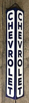 "FORD Vintage-Style 27/"" Long Embossed Tin Metal Hanging Sign"