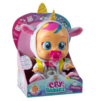 Cry Babies Dreamy Unicorn Real Magic Kids Toddler Tears Fantasy Baby Toy Doll