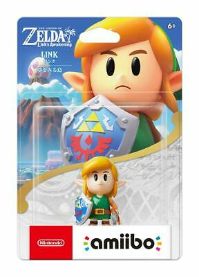 Nuevo Nintendo Amiibo Link The Legend Of Zelda Link's Awakening Dreaming Island