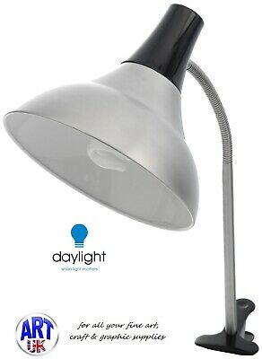 Daylight Professional Artist Aluminium Easel Lamp or Replacement Bulb 15w
