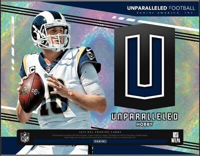2019 Panini Unparalleled NFL Football Factory Sealed Hobby Box