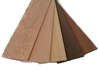 Hobbies Wood Sample Pack 5 x 100 x 457mm