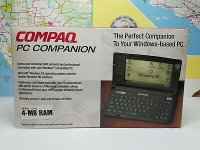 Compaq C140 Pocket PC WinCE Hand Held Computer PDA - Works Mint Condition