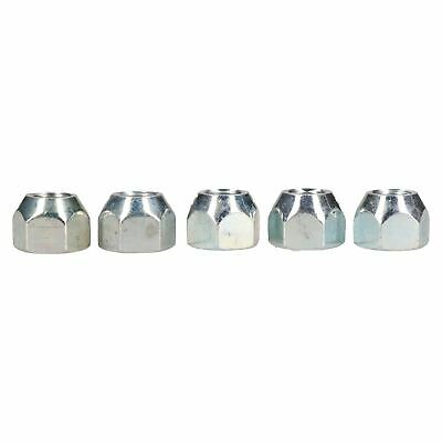 "7/16"" UNF Conical Wheel Nuts Pack of 5 for Trailer Caravan Suspension Hubs"