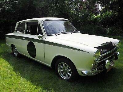 1966 Ford Cortina Lotus Evocation Mk1 airflow ,race parts ,classic rally car
