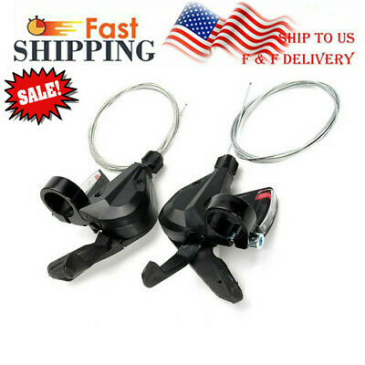 1 PAIR 3X8 24 Speed Shifter/Brake Dual Control Lever Set for