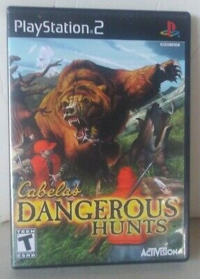 ☆ Cabela's Dangerous Hunts (Sony PlayStation 2 2003) Complete in Case PS2 Game ☆