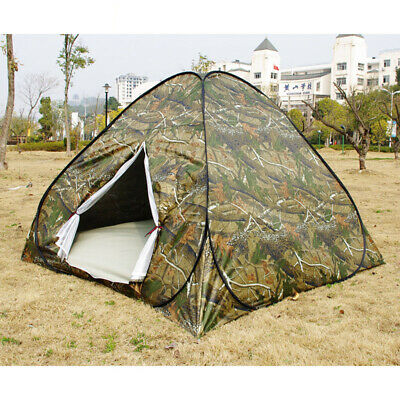 Waterproof 3-4 Person Automatic Instant Pop Up Outdoor Camping Tent Family Camo