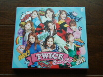 TWICE Candy Pop First edition Limited Edition A CD+DVD Japan