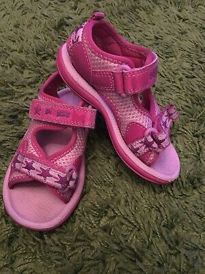 Clarks Girls Doddles Sandals Size 5.5UK
