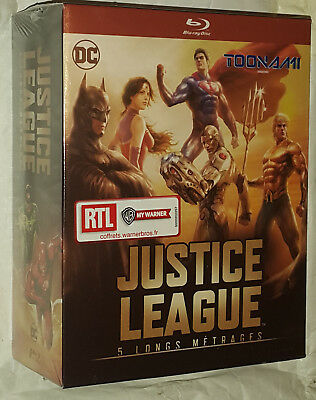 Justice League Flashpoint Throne Atlantis War Teen Titans Gods Monsters Blu-ray