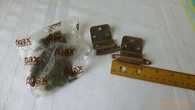 Vintage Hinges Cupboard Hinges 2 Styles Set of 4 Ajax Brand