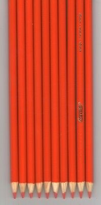 New Crayola Colored Pencils 16 Count Orange FREE SHIPPING!