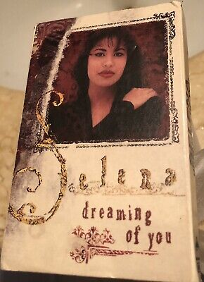 "Selena 1995 "" Dreaming of You"" Cassette Single 2 Tracks very rare OOP Cassingle"