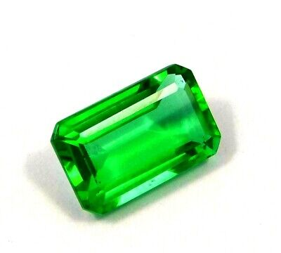 Treated Faceted Emerald Gemstone15 CT 16x11mm  NG12118