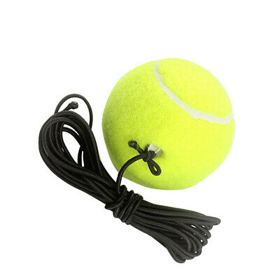 Fitness Belt with a Rubber Band Training Practice Ball Elastic Rope Tennis Balls