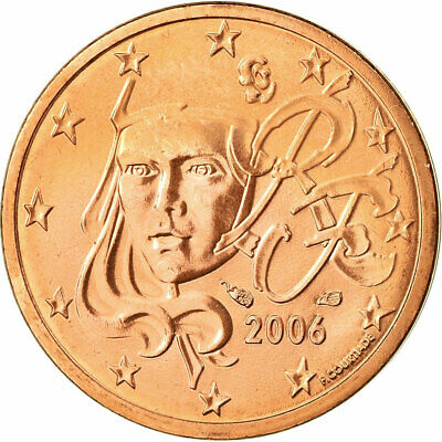[#702226] France, 2 Euro Cent, 2006, SPL, Copper Plated Steel, KM:1283