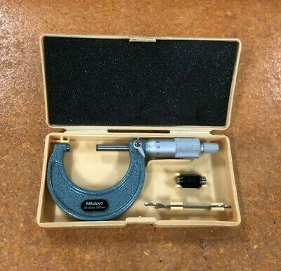 Mitutoyo No.103-138 Outside Micrometer 25-50mm / 0.01mm Capacity