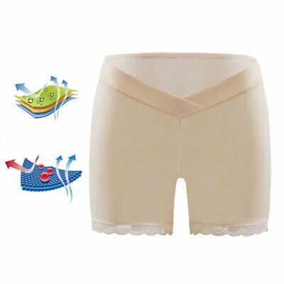 Pregnant Women Summer Safety Pants Low Waist Lace Maternity Pregnancy Briefs A3