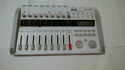 ZOOM R16 Portable Multitrack 16-Track Digital Recorder Tested Working Used