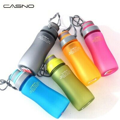 Sports Water Bottle BPA Free Plastic Running Gym Drinking Cup For Adults & Kids