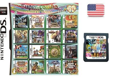 NEW 208 IN 1 Games Game Multi Cartridge For Nintendo DS NDS
