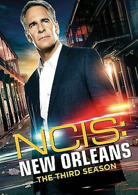 NCIS New Orleans Season 3 Complete Third TV Series DVD Box Set Collection New