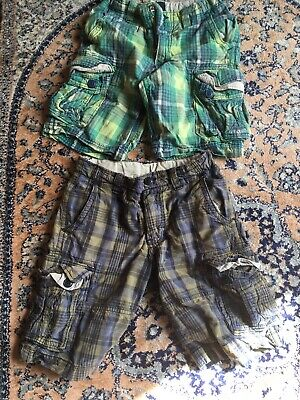 Two Pairs Of Boys Gap Shorts 8-9 Years