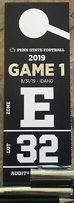 Preferred Lot 32 PARKING PASS - 08/31: Penn State Nittany Lions vs Idaho Vandals