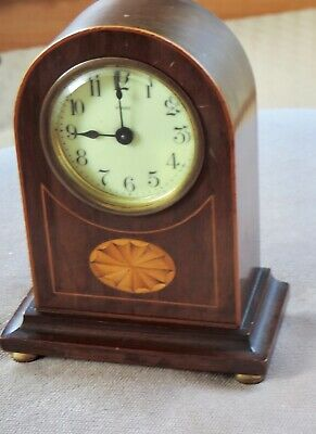 Edwardian mantel clock. (Spares/repair)