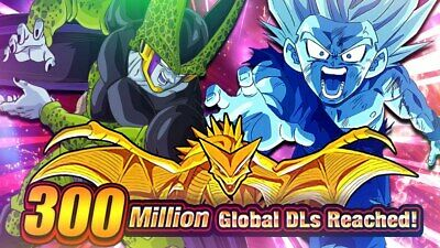 IOS - ANDROID  2500+ dragonstones! | GLOBAL - JAP DOKKAN BATTLE FARMED ACCOUNT!