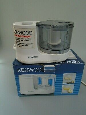 Kenwood Mini Food Chopper Ch100 With Box And Instructions