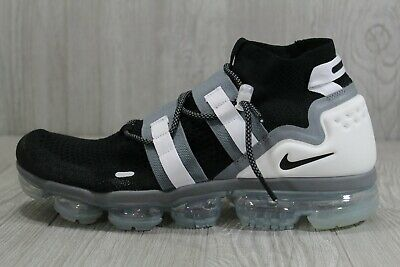 44 Nike Air Vapormax Flyknit Utility Black White Shoes AH6834-003 12.5 -15