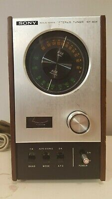 Sony ST-80F Stereo Tuner Radio Solid State Early 1970's Audiophile JAPAN