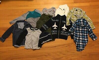 Great Lot Of Toddler Boy Fall Clothes 18-24 Months Gap Old Navy
