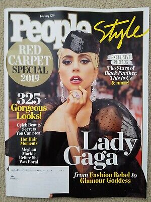 Lady Gaga, Timothee Chalamet, Emily Blunt People Style Magazine February 2019