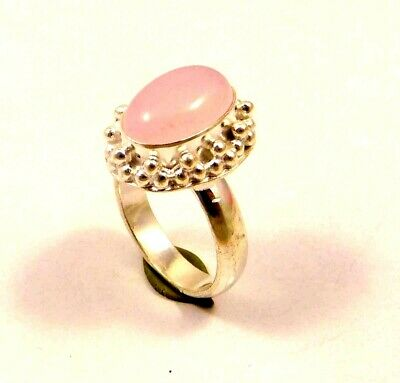 A++ Charming Chalcedony Silver Designer Jewelry Ring Size 8.75 JC6341