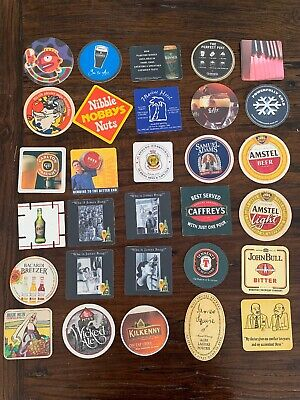 Vintage Beer And Drink Coasters Breweriana Collectable X 92