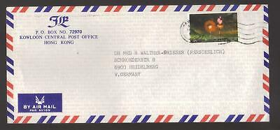 9651- Hong Kong , British Colonies, cover to Germany – Stanley Gibbons 444 -