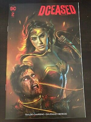 Dceased #2 Shannon Maer Trade Variant Wonder Woman Superman NM 9.4 DC 2019