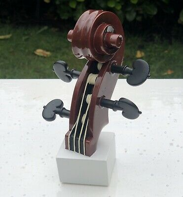 4D Art Musical Notes Musical Instruments Collection Violin Sculpture Figure